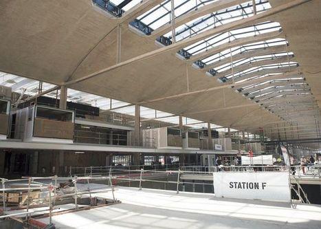 STATION F : la gare à start-up sera ouverte début avril | C'est Acquis | Scoop.it