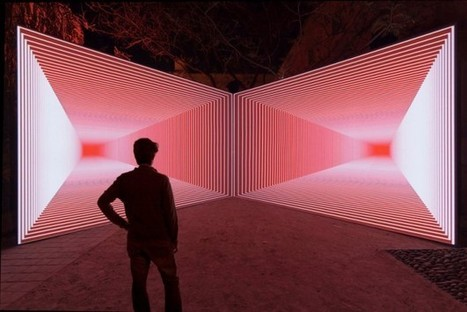 Perspective-Altering Installation Rethinks Time And Space [Video] | Luminous Art | Scoop.it