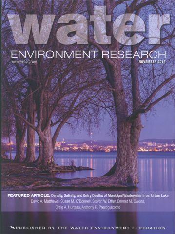 Water Environment Research, Vol. 88, nº 11 (2016)   Ingeniería Civil   Scoop.it