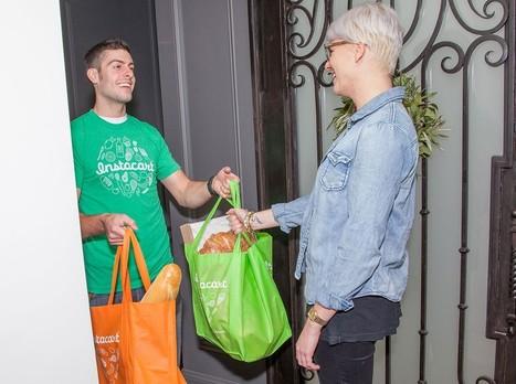 Avec Instacart, l'économie du partage s'invite au supermarché | DavidDcom | Scoop.it