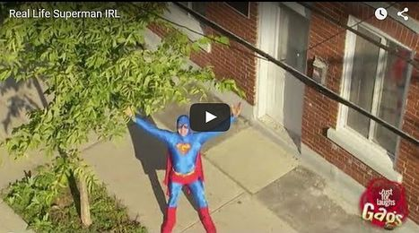 Real Life Superman - All Site Café | cool sites | fun sites | entertainment | play computer games | Scoop.it