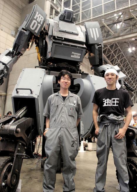 Le robot géant Kuratas est en vente | Actualités robots et humanoïdes | Scoop.it