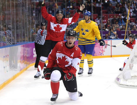 Golden generation leads Canadian men to Olympic hockey gold, again, in Sochi - National Post | Olympics | Scoop.it