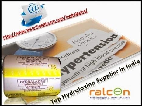 Hydralazine widens blood vessels to treat high blood pressure   Healthcare   Scoop.it