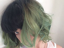Katy Perry dyes her hair slime green for spring - Love or loathe? - Sugarscape | socail media with Celebrities | Scoop.it