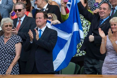 Joan McAlpine: Alex Salmond has every right to fly Saltire for Andy Murray at Wimbledon | Referendum 2014 | Scoop.it