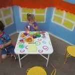 Our outdoor cafe and dramatic play in preschool | Teach Preschool | Scoop.it