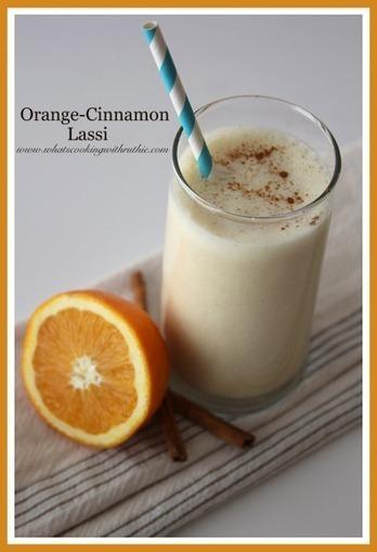Orange-Cinnamon Lassi - Cooking With Ruthie | Just Chocolate!!! | Scoop.it