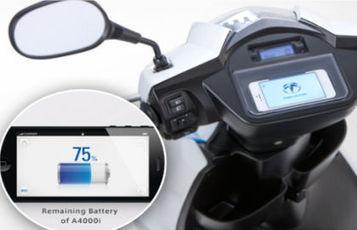 Terra Motors A4000i, un scooter électrique connecté à l'iPhone | Ma veille - Technos et Réseaux Sociaux | Scoop.it