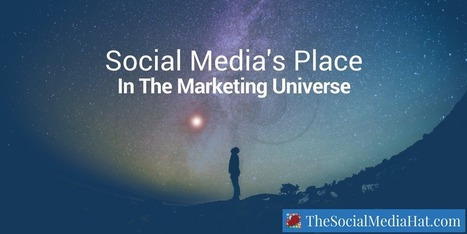 Finding Social Media's Place In The Marketing Universe | The Content Marketing Hat | Scoop.it