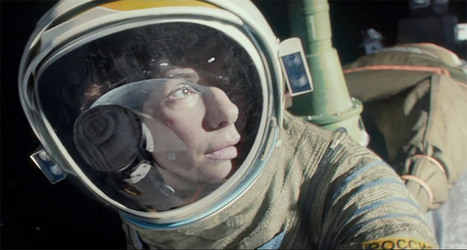 Watch: First Trailer For Alfonso Cuaron's Sci-Fi Thriller 'Gravity' Starring Sandra Bullock & George Clooney | Sci-Fi Movies | Scoop.it