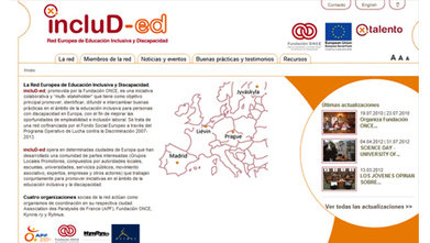 Nueva página web de la Red Europea de Educación Inclusiva y Discapacidad | Educación Intercultural | Scoop.it