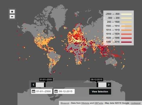 Alle veldslagen in kaart gebracht | Mediawijsheid in het VO | Scoop.it