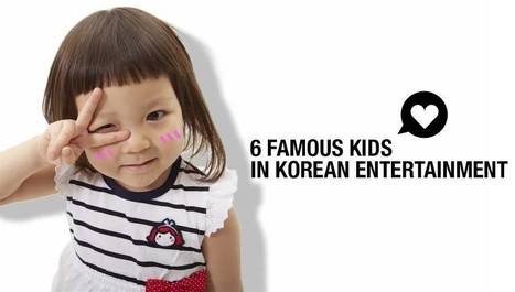 6 Famous Kids in Korean Entertainment   allkpop.com   Learning activities for kids   Scoop.it