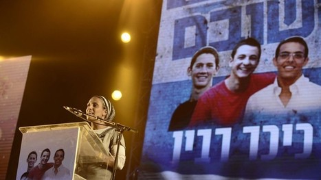 Tens of thousands rally in Tel Aviv for kidnapped teens | Jewish Education Around the World | Scoop.it