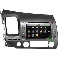 Android Car DVD Gps navigation Stereo for Honda Civic(left driving) with Radio Bluetooth 3G Wifi | Carputer-shop.co.uk | Scoop.it