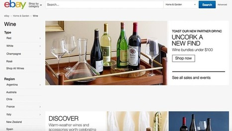 EBay Aims For A Gulp Of The $15 Billion Dollar #Wine Business | Vitabella Wine Daily Gossip | Scoop.it
