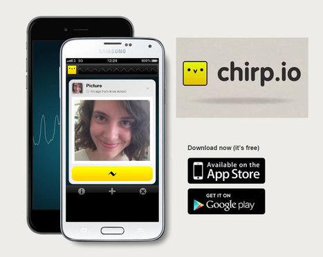 Chirp.io: Transfiere fácilmente información mediante el sonido | Las TIC en el aula de ELE | Scoop.it