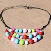 Ideas for Necklaces - How to Make a Multi Strand Bead Necklace | easy crafts | Scoop.it