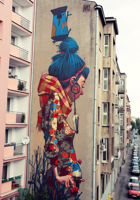 20 Of The Best Cities To See Street Art | Just Trending | Scoop.it