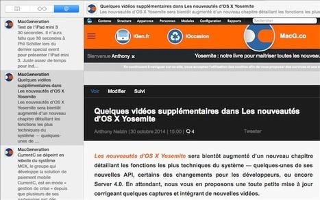 MacOSX Yosemite : le lecteur de flux RSS caché de Safari   RSS Circus : veille stratégique, intelligence économique, curation, publication, Web 2.0   Scoop.it