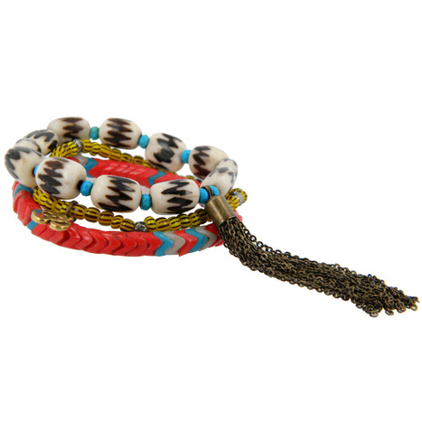 Lacey Ryan Tribal Bracelet Set | Arm Candy - Hottest Jewelry Trends 2013 | Scoop.it