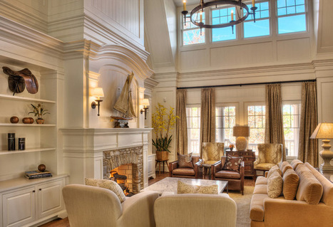 How to Work With a High Ceiling | Designing Interiors | Scoop.it