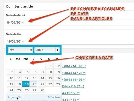 WordPress :: utiliser les dates d'Advanced ... - Grégoire Noyelle | Wordpress | Scoop.it