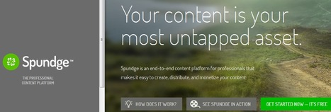 Spundge - create and deliver | Ed-tech trends | Scoop.it