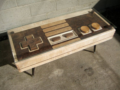 Resurrect Your NES with This Functioning Controller Coffee Table | CRAW | Scoop.it