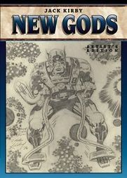 """Jack Kirby New Gods Variant Artist Edition SIGNED Mike Royer IDW Hardcover HC 