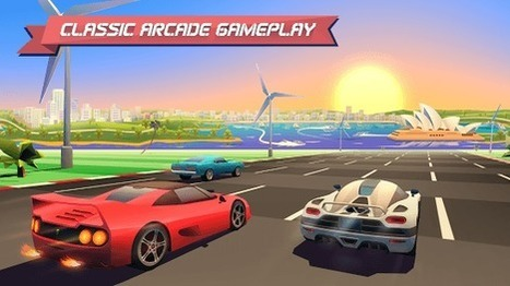 Horizon Chase World Tour - Love letter to all retro gaming fans | Free Android Apps and games | Scoop.it