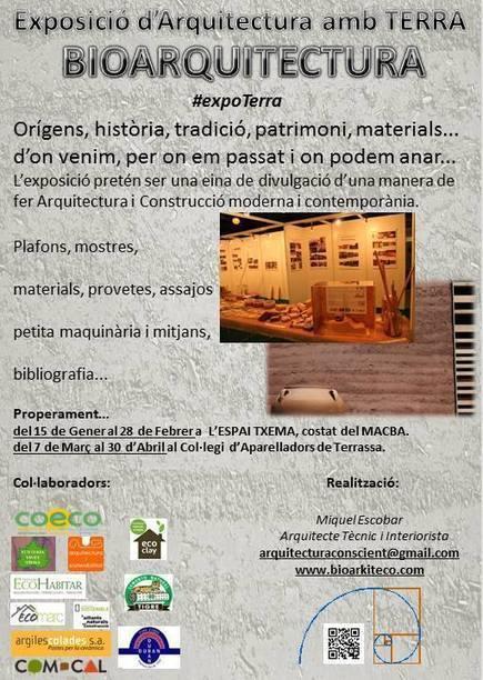 Exposició d'arquitectura amb terra fins el 28 de febrer – BaM   Properes activitats   Scoop.it