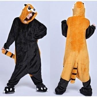 Kigurumi Adult Raccoon Pajamas Unisex Onesies Anime Cosplay Costume | Personalized Clothing | Scoop.it