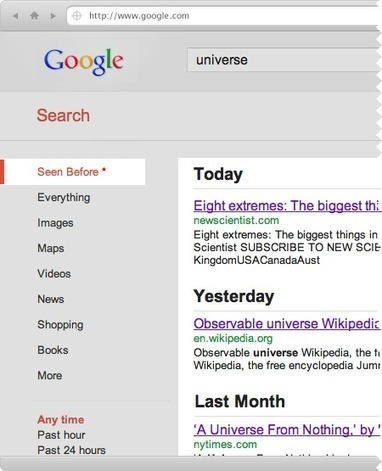 Seen Before : A search engine for what you have seen before. | Time to Learn | Scoop.it