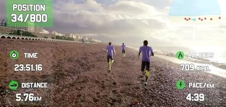 Race Yourself, une application Google Glass pour courir contre des adversaires en réalité virtuelle | Cabinet de curiosités numériques | Scoop.it