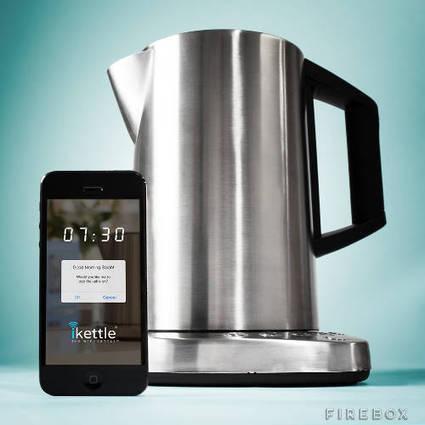 iKettle, une bouilloire connectée en wifi pour votre cuisine | connected home | Scoop.it
