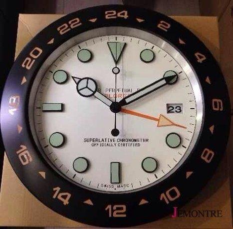 Horloge murale rolex pas cher pendule murale ro - Horloge murale geante pas cher ...