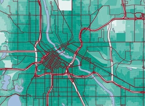 This Map Wants to Change How You Think About Your Commute | GIS Data and Programs | Scoop.it