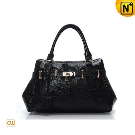 Women Black Leather Handbags CW272716 - cwmalls.com   Women leather bags   Scoop.it