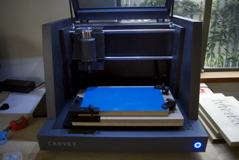 We Spent a Week with Carvey, Inventables' New 3D Carver, and We Don't Want to Give it Back | Maker Stuff | Scoop.it