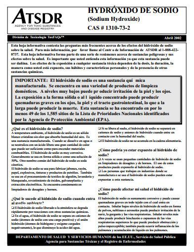 Daños a la salud por Hidróxido de Sodio, ingrediente activo del limpiador EASY-OFF | Limpiadores tóxicos comerciales para horno. | Scoop.it