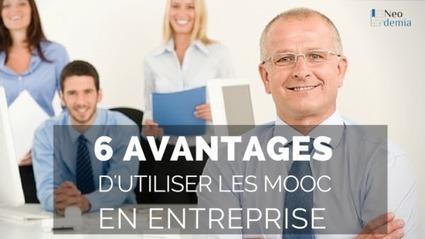 6 avantages concrets pour une entreprise d'utiliser les MOOC - Blog Neodemia | Change Management | Scoop.it
