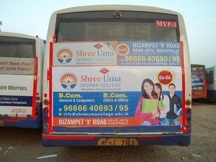 Bus Advertising: Make it better | Inclouds Advertisement agency | Scoop.it