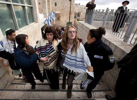 Women Detained at Western Wall for Wearing Traditionally Male Prayer Shawls | A Voice of Our Own | Scoop.it