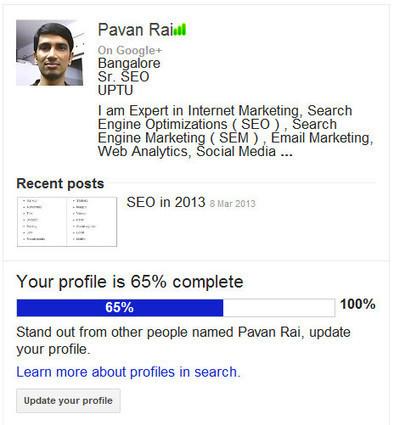 Google Authorship Markup will New Ranking Factor   Pavan Rai   Scoop.it