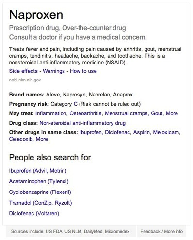 Google now includes medications directly in search results, including brand names and side effects | Pharma Strategic | Scoop.it