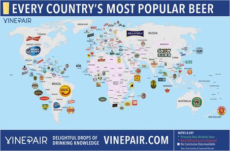 Las cervezas más populares en cada país | Educacion, ecologia y TIC | Scoop.it