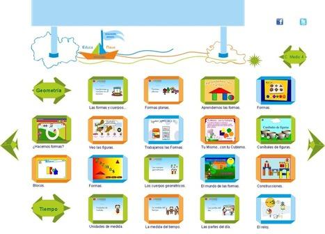 Recursos educativos y juegos online para aprender las Formas Geométricas – Educanave. | Recursos Educacion infantil | Scoop.it
