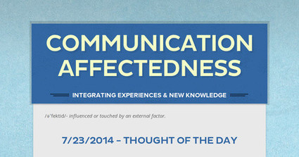 Communication Affectedness | eHS Mobile Classroom | Scoop.it
